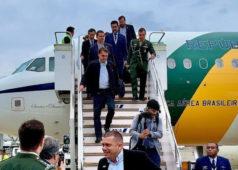 Bolsonaro chega ao Japão