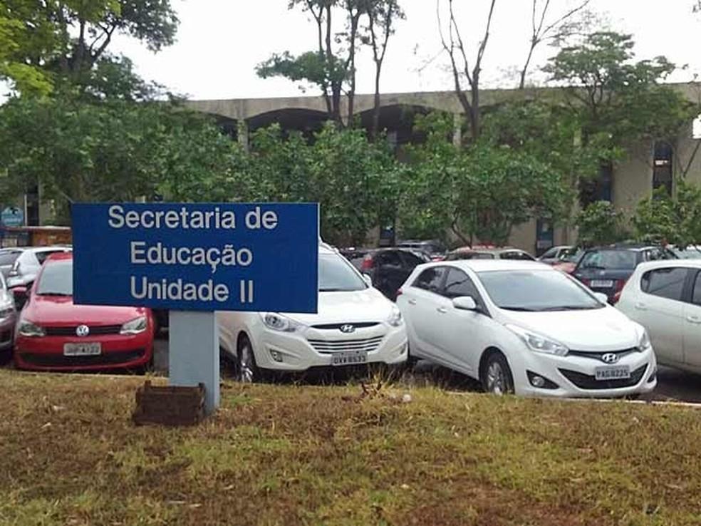 secretaria de educacao - Caneta azul, azul caneta