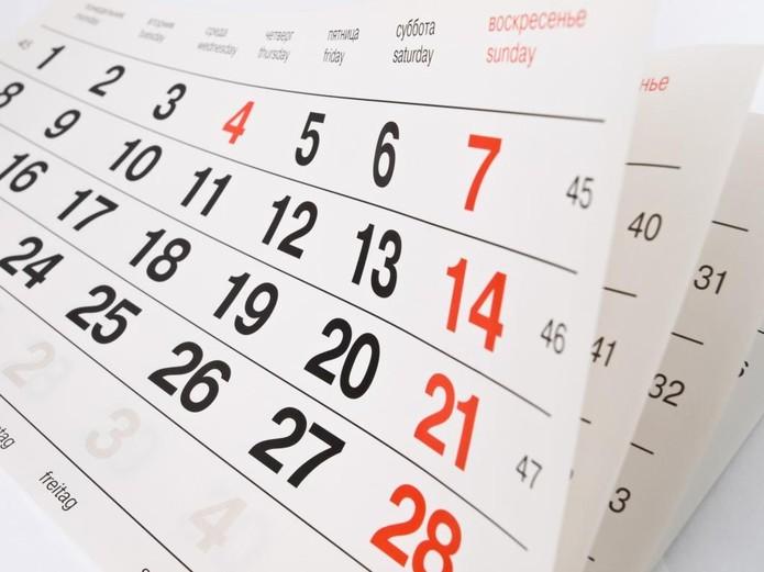 Seis feriados nacionais prolongados em 2020