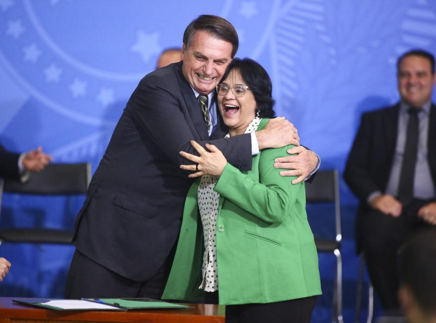 damares - Damares vice de Bolsonaro em 2022