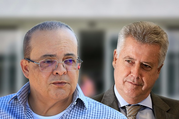 Ibaneis Rocha e Rodrigo Rollemberg