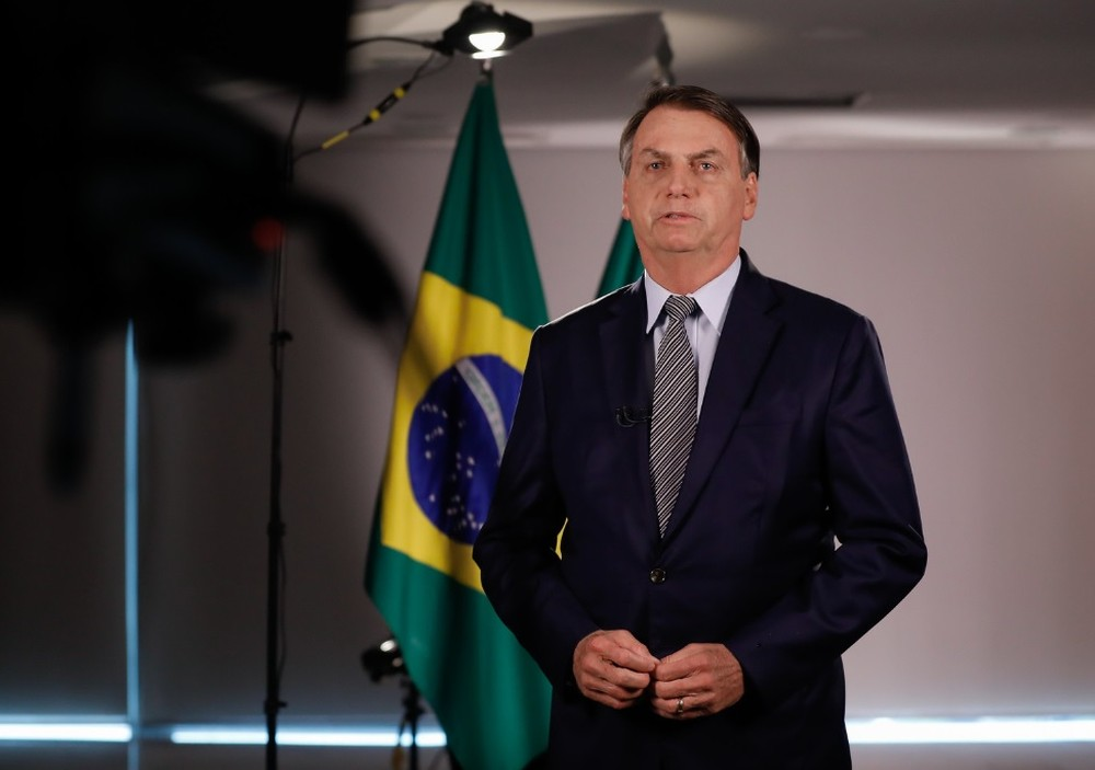 pronunciamento bolsonaro - Bolsonaro diz que precisa do Congresso para resolver problemas do país