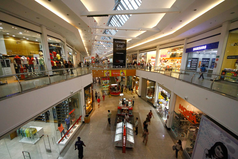 shopping - Férias coletivas no comércio