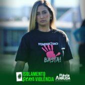 flaviaa 1 170x170 - Violência contra a mulher se intensifica durante o isolamento