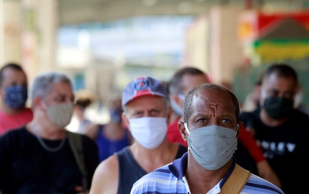 mascaras 6 - DF tem a menor taxa de letalidade por Covid-19 do país