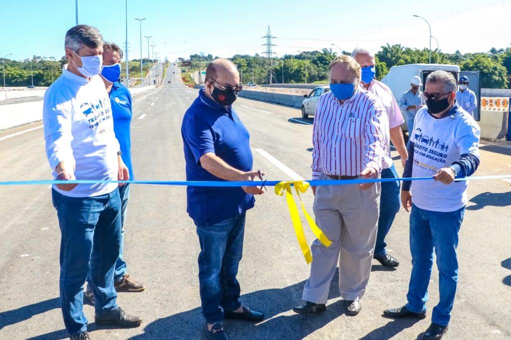 Ponte do Bragueto é liberada