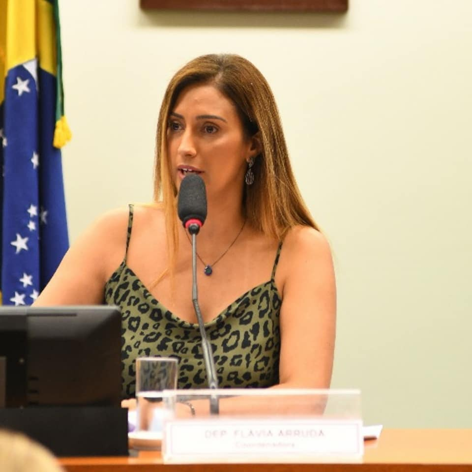 Flávia Arruda cobra de Guedes informações sobre o Renda Brasil