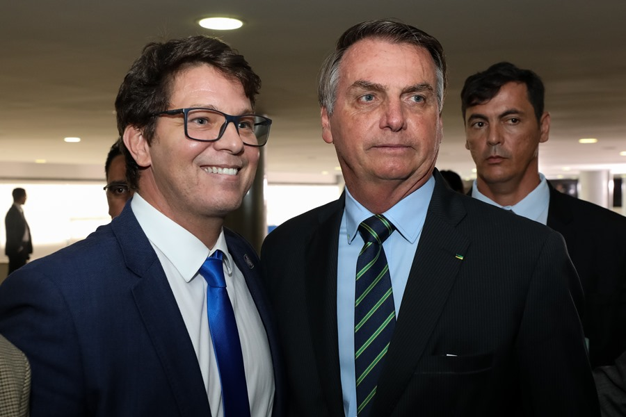 marcos frias e bolsonaro - Novo secretário da Cultura é convidado para debate na Câmara