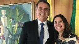 Read more about the article Bolsonaro visita Kicis após afastá-la de liderança e diz: 'voltou o amor'