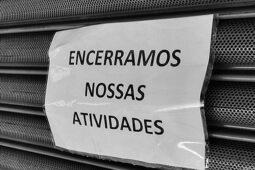 Read more about the article Mais de 520 mil empresas fecharam por causa da pandemia, segundo IBGE