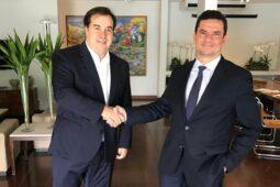 "Read more about the article Moro ""virou político"", afirma Maia"
