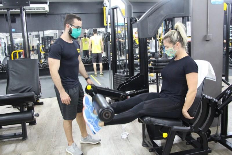 mascaras na academia - Um novo normal para sua saúde