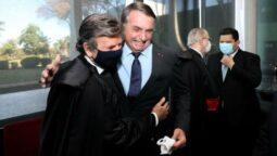 Read more about the article Fux se reúne com o presidente Bolsonaro