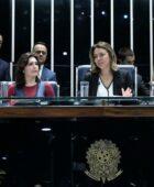 Read more about the article Leila Barros declara apoio à candidatura de Simone Tebet