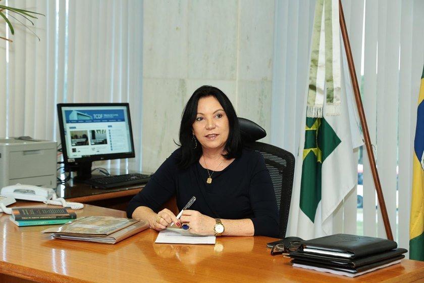 Anilcéia Machado renuncia ao cargo de corregedora do TCDF